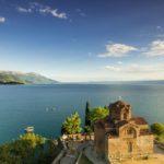 Church of Sv Jovan Kaleo at Ohrid Lake in Macedonia
